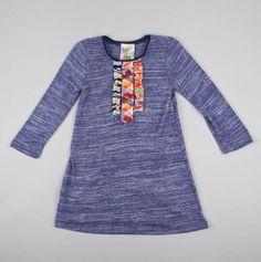 Dress with Multi Ruffles - Twirls & Twigs
