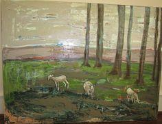 Emyo painting of sheep