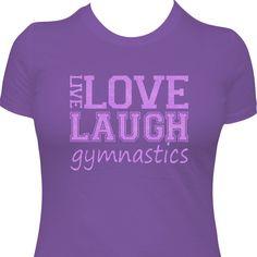 Quotablee Every Day Im Tumblin Funny Gymnastics Shirt Tee Gifts Short-Sleeve Unisex T-Shirt