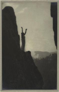 Anne Brigman, Incantation, 1905