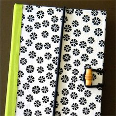 Turn an old book into a Kindle or tablet cover.    I think my grandma needs one of these!