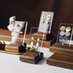2019 Wholesale Earring Display Stand Wood Earring Display Stand New Design High . - 2019 Wholesale Earring Display Stand Wood Earring Display Stand New Design High Quality Wooden Stan - Wood Jewelry Display, Jewelry Stand, Wooden Jewelry, Jewellery Storage, Jewellery Display, Jewelry Organization, Jewelry Holder, Accessories Display, Jewelry Logo