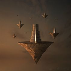 Towers by ~Alshain4 on deviantART