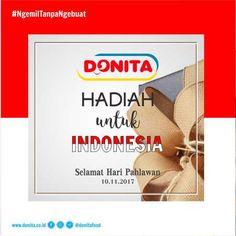 Donita Hadiah Untuk Indonesia