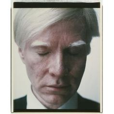 // Andy Warhol (1928-1987), Self-Portrait (Eyes Closed)