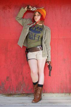 Rule 63 Jayne Cobb Cosplay by Sadie Grace Hallowen Costume, Halloween Cosplay, Cosplay Costumes, Cosplay Ideas, Firefly Costume, Firefly Cosplay, Kaylee Firefly, Gender Bend Cosplay, Jayne Cobb