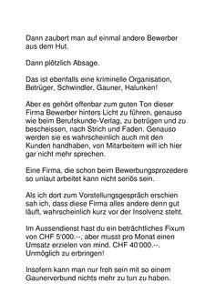 Dreckiger Gauner- und Betrüger(läden)! Word Search, Words