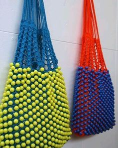 """New Cheap Bags. The location where building and construction meets style, beaded crochet is the act of using beads to decorate crocheted products. """"Crochet"""" is derived fro Diy Tricot Crochet, Crochet Shell Stitch, Beaded Crochet, Crochet Handbags, Crochet Purses, Crochet Bags, Knitting Accessories, Bag Accessories, Sacs Design"""