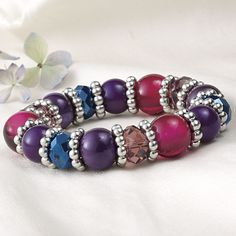 Multicolor Jewels Bracelet - Furniture, Home Decor and Home Furnishings, Home Accessories and Gifts | Expressions