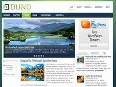 Duno WordPress theme