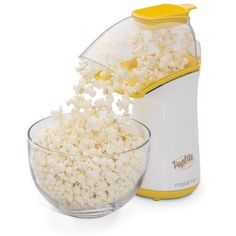 POP POP POP There's nothing I like better than fresh, hot, popped popcorn. And this best selling popcorn maker is HOT indeed. It's the Presto 04820 PopLite Hot Air Popper, that not only pops faster than microwave Hot Air Popcorn Popper, Air Popper, Air Popped Popcorn, Best Microwave Popcorn, Best Popcorn, Gourmet Popcorn, Healthy Popcorn, Free Popcorn, Kitchen