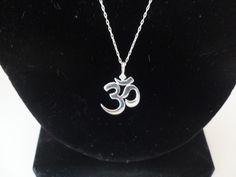 Unwritten sterling silver necklace om symbol pendant necklaces unwritten sterling silver necklace om symbol pendant aloadofball Gallery