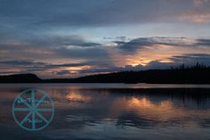 Sunset on Alder Lake by mtownphoto on Etsy