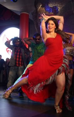 Hot Lakshmi Rai while dancing