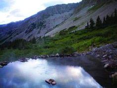 Conundrum Hot Springs, Aspen CO