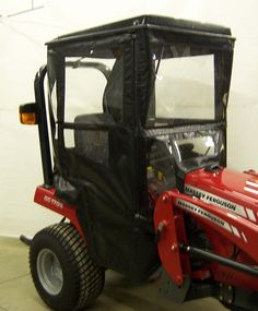 Hard Top Tractor Cab Enclosure For Massey Ferguson GC1705 and GC1715