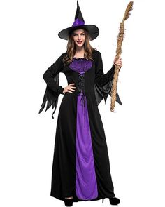 7d21c8d36f9 Evil Storybook Witch Adult Womens Halloween Costume