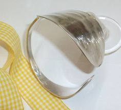 Nostalgisches Silberarmband Besteckschmuck AB134 von Atelier Regina auf DaWanda.com