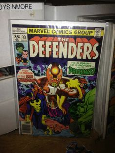 THE DEFENDERS #55 HULK, SUB-MARINER MARVEL COMICS NICE COPY
