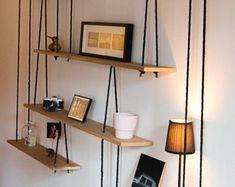239 meilleures images du tableau tag re suspendue en 2019. Black Bedroom Furniture Sets. Home Design Ideas