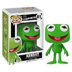Muppets Kermit the Frog Pop! Vinyl Figure - Factory Sealed! FREE SHIPPING!