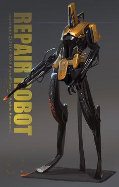 Bigball gao repair robot