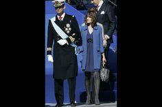 La princesse Letizia d'Espagne, le 12 octobre 2007