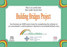 The Building Bridges Project supports young people aged between 14 and 25 with additional needs to get involved in fun activities, making new friends and/or work related options in Monmouthshire.