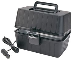 Koolatron LBS01 Black 12 Volt  Lunch Box Stove ** You can find out more details at the link of the image.