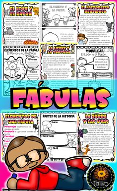 Fábulas New School Year, Back To School, Ell Students, French Resources, English Language Learners, Teaching French, Teaching Materials, French Language, Foreign Languages