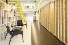 #RAZORFISH offices in Berlin Project lead by Bruzkus Batek Architects and LEDSC4 lighting #infinite #led #headquarters #light #interiordesign