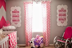 Pink & Grey Nursery     The Frosted Petticoat Blog