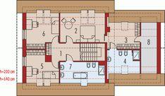 Rzut AC Marcin G2 CE Home Projects, House Plans, Floor Plans, House Design, How To Plan, Architecture, Interior, Mai, La Paz