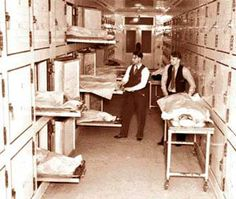 WA, Seattle - Kolling/Georgetown Morgue. In 1976 the City of Seattle acquired the facility after Broughton Brothers Funeral Services defaulted on their loan and turned it back to a morgue. (the City did not abandon the crematorium part of the facility, and instead continued to utilize it, although this time for the purpose of processing animal carcasses for their Animal Control Department).
