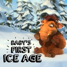 Baby Peaches can melt any one's heart, even in the Ice Age.