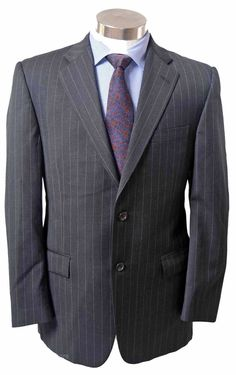 8cdf8bbc818 Burberry custom wool suit with two button dual vent jacket   ff pants sz 39