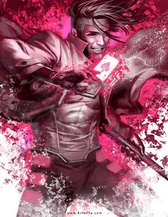 X-MEN: Gambit by Tu Bui on deviantART