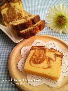 キャラメルマーブルパウンドケーキ by mocchi4141 [クックパッド] 簡単 ...