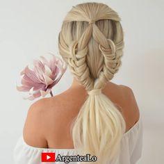 Work Hairstyles, Pretty Hairstyles, Braided Hairstyles, Medium Hair Styles, Natural Hair Styles, Short Hair Styles, Hair Upstyles, Hair Creations, Hair Videos