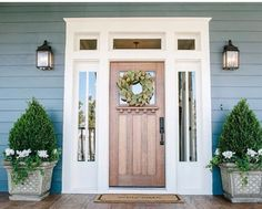 Oh my heart. This front door!