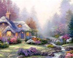 Thomas Kinkade   Cottage