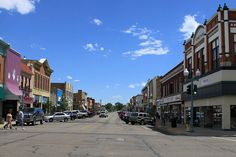 The lovely little town of Laramie, Wy; the winters are harsh, the wind blows 65 mph a lot of the time.  Home to the Univ of Wyoming (U Dub) and Wyotech, where my son went to school