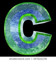 「Concept Conceptual Blue and Green Water or Ice Font 」の画像、写真素材、ベクター画像 Freeze, Black Backgrounds, Alphabet, Fonts, Concept, Education, Spring, Summer, Christmas