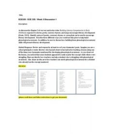 The story ece335 week 2 assignment essay