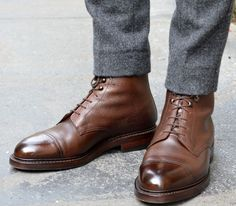 Nice leather shoes for work or casual