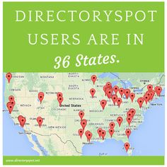 DirectorySpot users are in 36 states. Sign up for a demo today at https://www.directoryspot.net/get-started/demo.html.