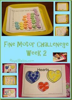 28 Days of Fine Motor Challenge