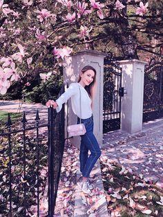 Magnolia tree symbolism, shades and trends of handbags