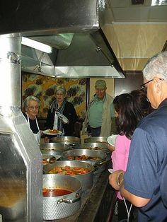 Mama's Kitchen at Restaurant Meteora in Kalambaka, Greece. All part of the tour. What a feed. Must do!