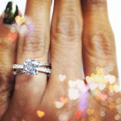 Make waves with the Surge engagement ring!